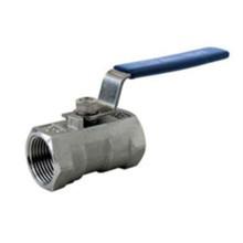 1PC réduit la vanne à bille en acier inoxydable
