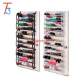 36 Pair chrome slide out shoe rack