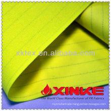 EN343 cotton poly flame retardant laminated fabric