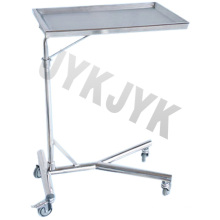 Stainless Steel Medical Mayo Stand Trolley