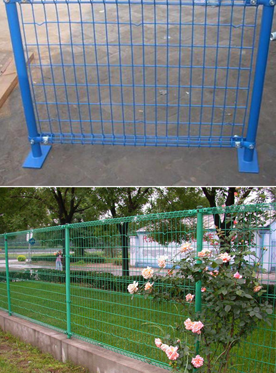 Double circle fence netting
