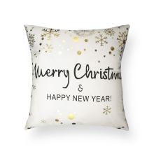 Fashion Christmas Throw Pillow Cover Xmas Car Cushion Cover Case for Sofa Bedroom Holiday Decoration
