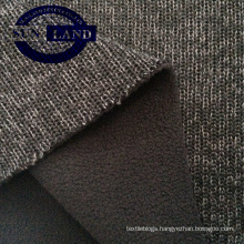 China Supplier Changshu Textile Bonded Polar Fleece Fabric