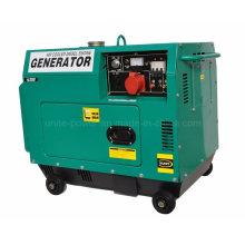 Generador de gasolina de uso doméstico portátil de dos cilindros y 10 kVA