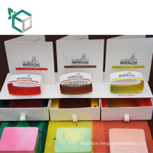 Best Selling Products Wholesale Custom Skin Care Soap Set Packaging Box With Divider And Soap Paper Wrap