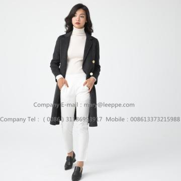 Kvinnor Medium Cashmere Coat