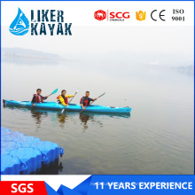 Offer OEM Professional 3 Seat PE Hull Kayak