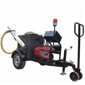 Factory honda generator concrete road joint filling machine in stock FGF-100