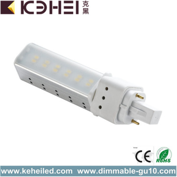 6W LED buislamp G24 basistype