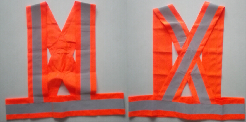 Orange High Visibility Reflective Safety Belt