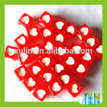 bracelets fitting acrylic cube similar letter beads red back with white heart beads