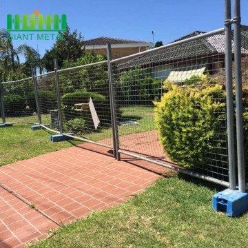 Anti Corrosion Easy Install Temporary Fence with Brace