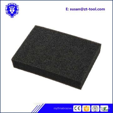 Großhandelsharter Aluminiumoxid-Sand-Schwamm für Küchen-Reinigung
