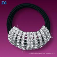 Banda de lujo lleno de lujo del pelo de las muchachas, venda elegante de la boda, venda francesa del pelo