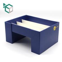 Creative custom Double open paper wine glass gift box