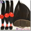 Virgin Brazilian Hair Straight Style 13*4 human hair frontal lace closures ear to ear
