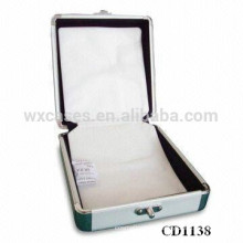 high quality 32 CD disks aluminum CD box wholesale from China manufacturer