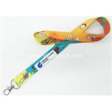 Dye Sublimation Printing Polyester Lanyards Logo