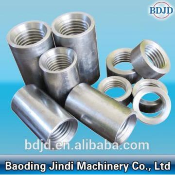 Keluli Threaded Rebar Jointing Coupler Sleeve