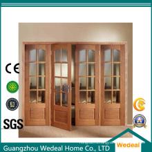 4 панели Bifolding дверь/дверь гармошка для интерьера комнаты