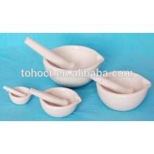 Горячая продажа фарфора Al2O3 керамические Ступку и пестик