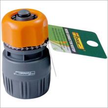 Conector da mangueira de jardim mangueira acessórios jardim de plástico ABS com Stop