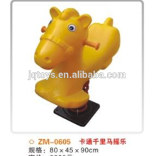 Elemento de caballo mecedora actualizado juguete elefante oscilante de alta calidad