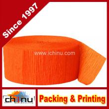 Orange Krepp-Papier-Streamer (420048)
