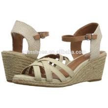 2016 Summer Women Fashion High Heel Pump Shoes Wedge Shoe