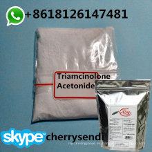 Polvo tópico de CAS 76-25-5 corticosteroide del polvo del acetonido de Triamcinolone del 99.8%