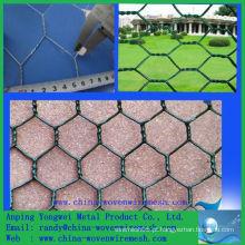 Um ping PVC revestido malha de arame hexagonal (china alibaba)