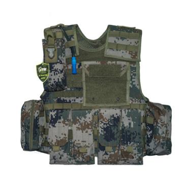 Heißer Verkauf 2019 Kugelsichere Weste Militärjacke Taktische Weste mit Taschen für Polizei und Militär Ebene 3A Rüstung