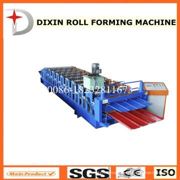 Máquina formadora de rolos de dois andares