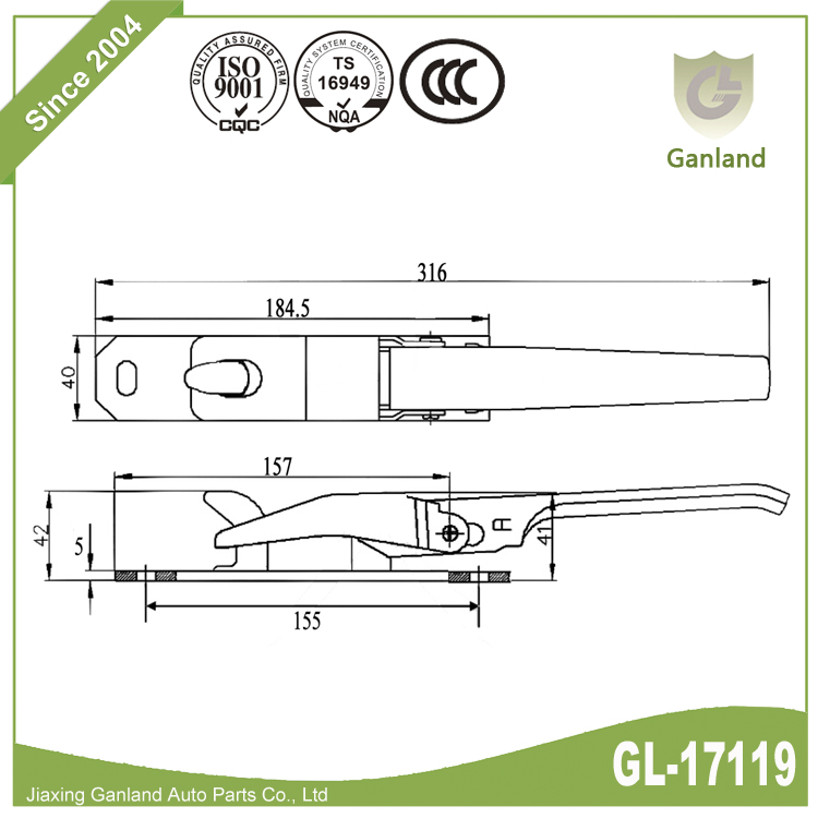 Over Centre Fastener GL-17119