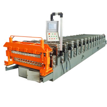 Double Layers Roof Steel Sheets Plate Rolling Forming Machine