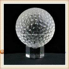 Boule de cristal Golf pour cadeau