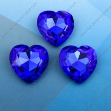Heart Fancy Crystal Diamonds Stones Beads for Crystal Jewelry