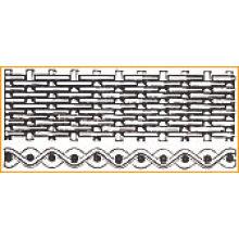 Treillis métallique simple d'armure de tissu d'armure hollandaise