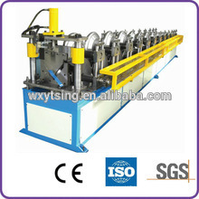 Passed CE and ISO YTSING-YD-0667 Metal Roof Ridge Cap Roll Forming Machine