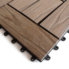 Environmental-Protection 30X30 Co-Extrusion Anti-UV Waterproof WPC Composite Deck Tile