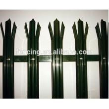 second hand palisade fencing for sale/palisade fencing price for sales