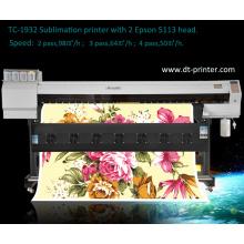 Tc-1932 Digital Printer with Sublimation Printing