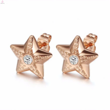 Custom Dubai Gold Crystal Stud Earrings Jewelry Sets Design
