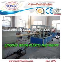 Tubos de PVC de PVC industriales producen maquinaria