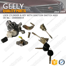 OE GEELY spare Parts lock cylinder 1068000019