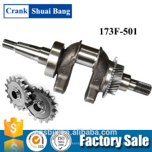 Berufsentwurfs-Kurbelwellen-Zeichnung, Stahlmotor-Kurbelwelle