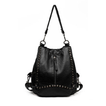 2015 Women Desinger Reversible PU Leather Tote & Shoulder Bag
