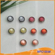Prong Snap Button avec mode Bonnet en perle coloré