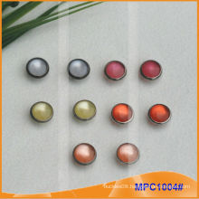 Prong Snap Button with fashion Colorful pearl cap