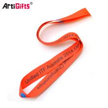 Best price custom printing cheap medal ribbon holder
